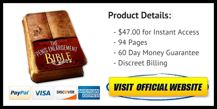 the Penis Enlargement Bible last offer image