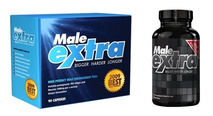 old and new male extra packaging