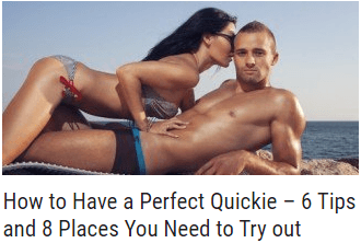 post perfect quickie
