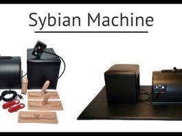 the sybian machine box