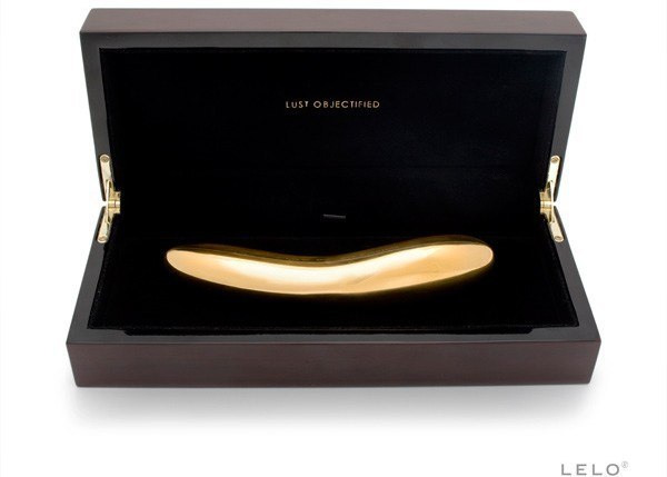 Gold Plated Vibrator INEZ By Lelo