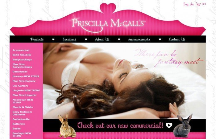 The Online Sex Shop Priscilla McCall´s