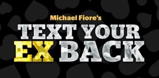 Main logo of text your ex back program