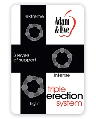Adam Eve Triple Erection System