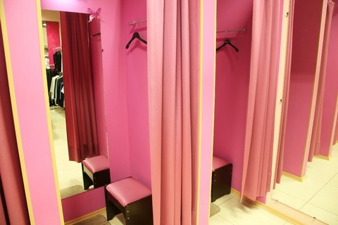Fitting Rooms Perfect For Sex