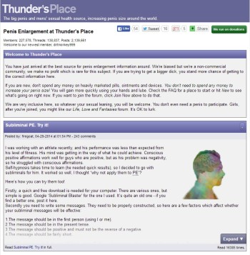 General Forum Of Thunder´s Place