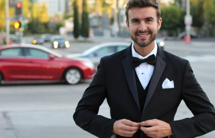 gentleman in suit