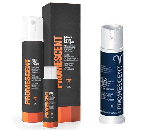 Old & New Packaging Of Promescent