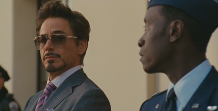 Robert Downey Jr as Tony Stark Iron Man