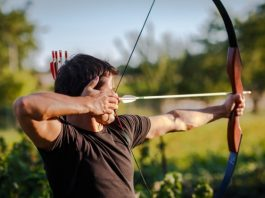 strong male Archer