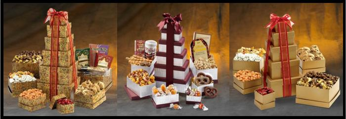 gift tower basket