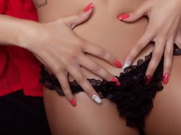 woman ready for fingering