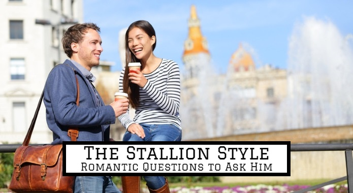 romatic questions to ask a guy