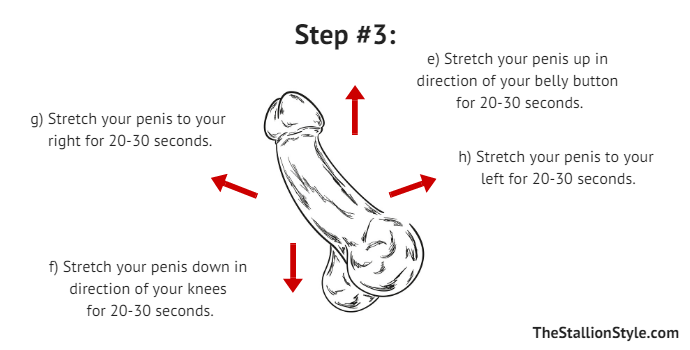 Exercises to get a bigger dick