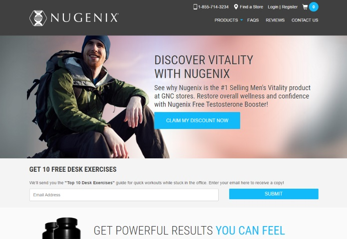 Nugenix official website