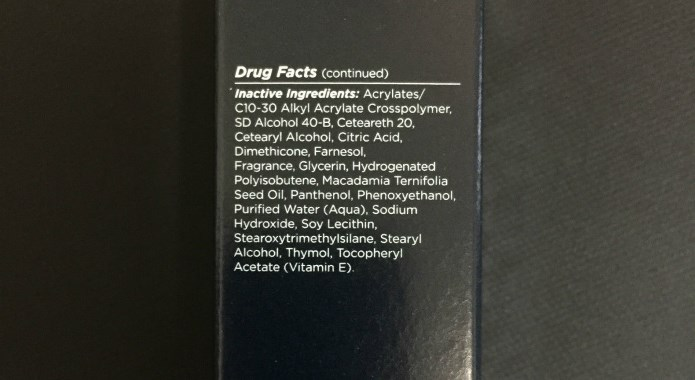 Promescent ingredients