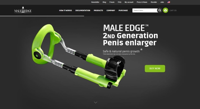 male edge official website