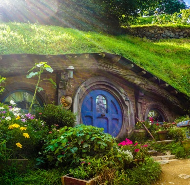 hobbit hole mobile