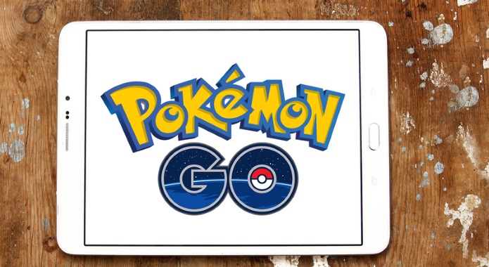 pokemon go app on tablet desktop