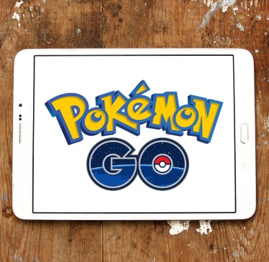 pokemon go app on tablet mobile