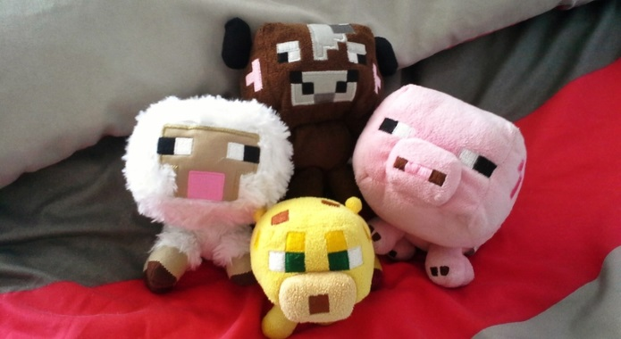 stuffed animals from minecraft desktop