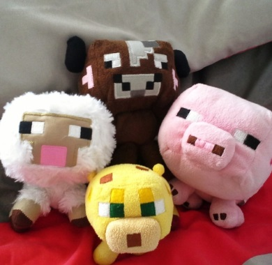 stuffed animals from minecraft mobile