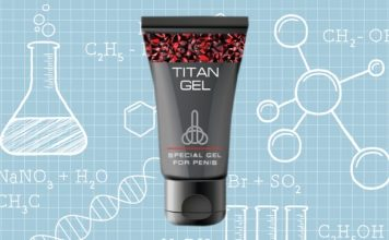 Titan Gel Ingredients template
