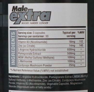 male extra ingredients mobile