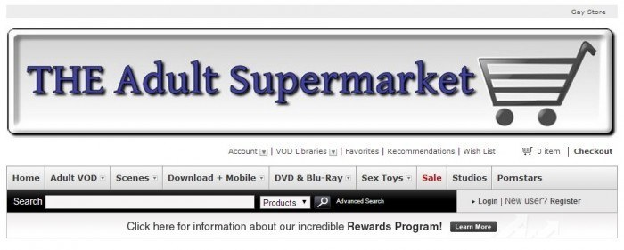 Website Of The Adult Supermarket