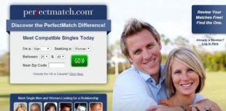 PerfectMatch.com Homepage