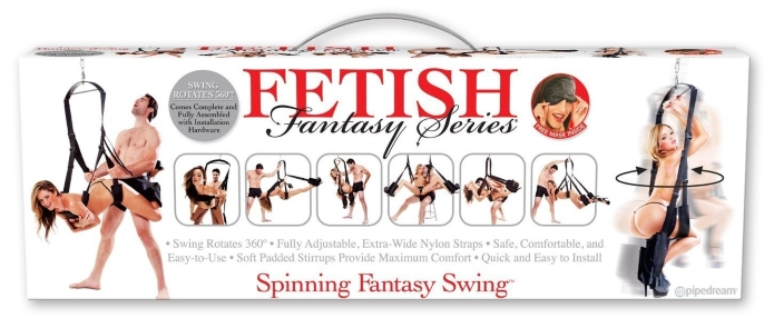 fetish fantasy spinning swing