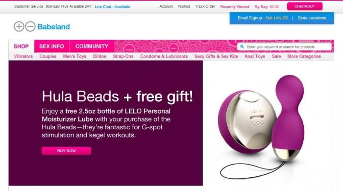 BabeLand E-Shop For Kinky & Adult Stuff