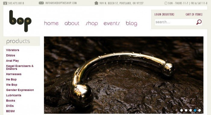 Image Of She Bob The Shop Page