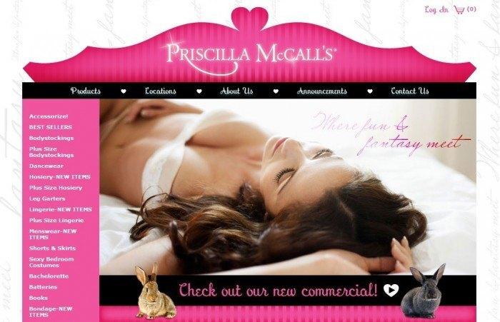 The Online Sex Shop Priscilla McCall´s