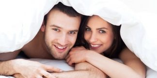 Two Friends With Benefits In Bed