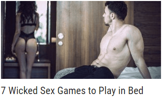 7 Wicked Sex Games to Play in Bed