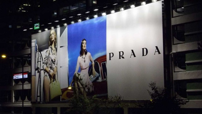 prada billboard