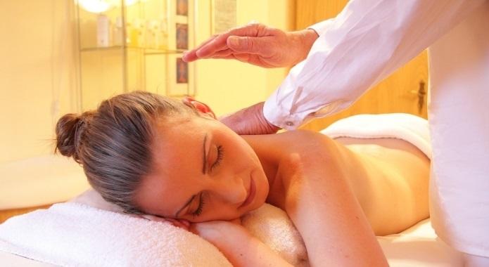 woman wellness sensual massage