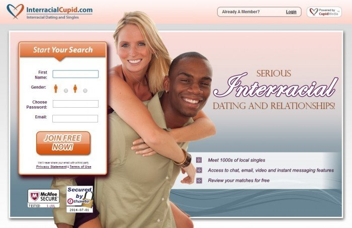 Interracial Cupid Homepage