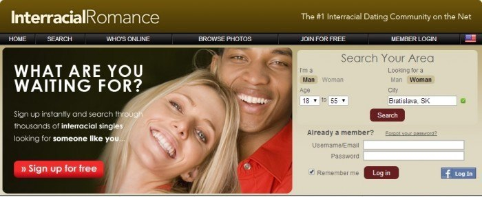 Website Called Interracial Romance