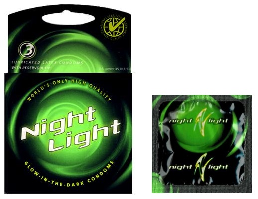 night light condom box