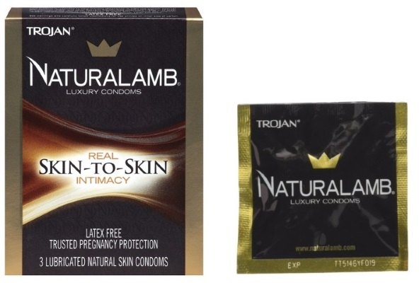 the Trojan NaturaLamb box