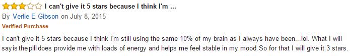 Amazon feedback on Addium pills 2