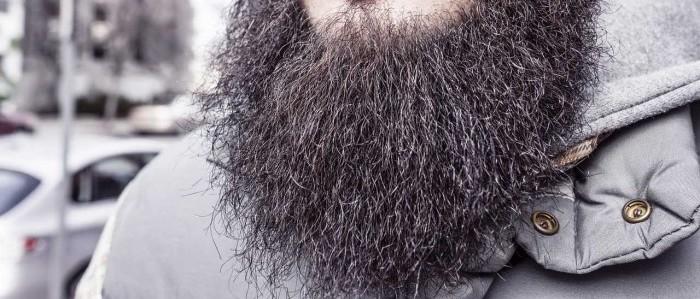 thick facial hair