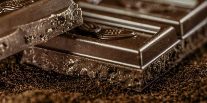 small dark chocolate