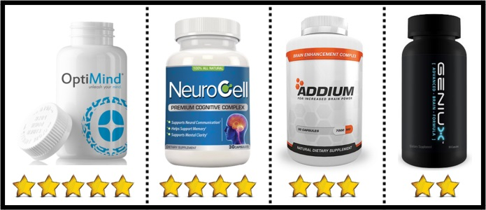 top nootropics with rating