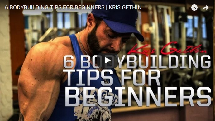 video template for basic bodybuilding tips