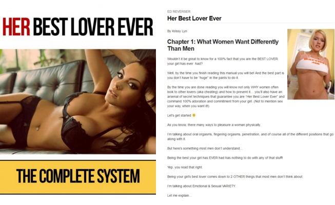 screenshot of her best lover
