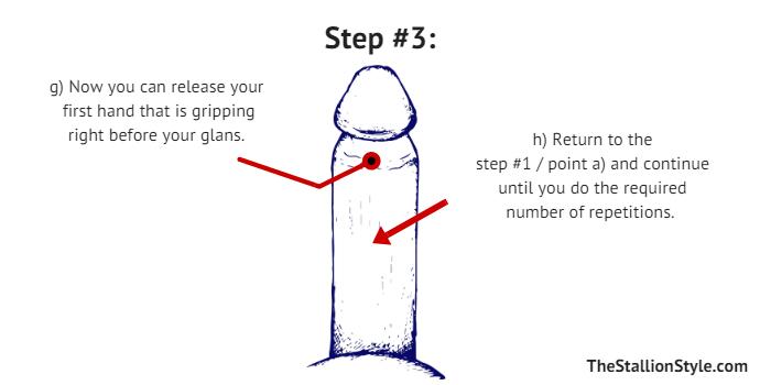 Dry Jelq Step 3