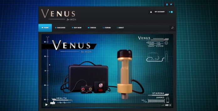 Venus 2000 official website